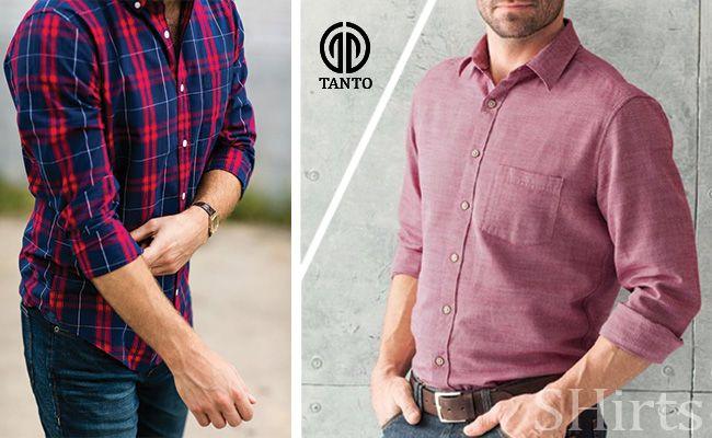 نقش پیراهن مردانه در استایل آقایان