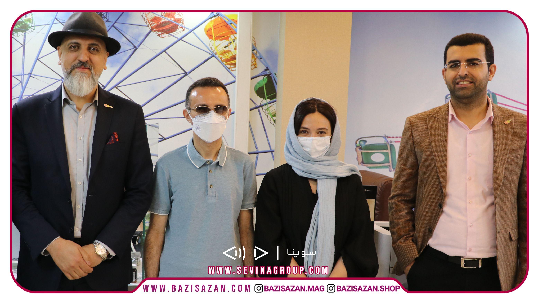 آغاز همکاری سوینا و بازی سازان با حضور سرکار خانم گلاره عباسی در بازی سازان