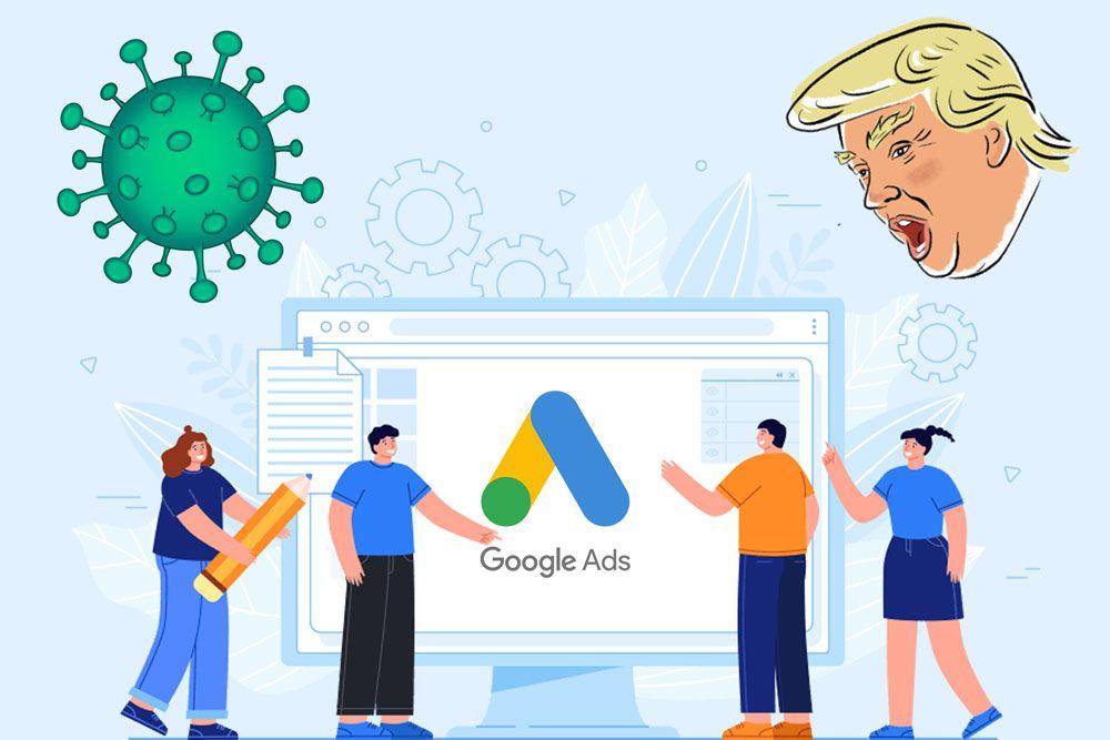 ترامپ و گوگل ادز