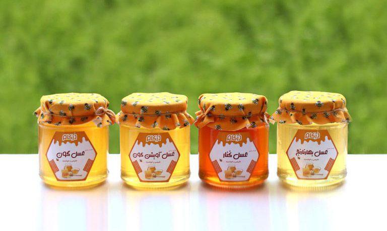 خرید پکیج عسل طبیعی