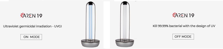 دستگاه ضدعفونی کننده محیط و هوا آرن 19