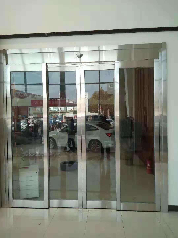 درب برقی شیشه ای