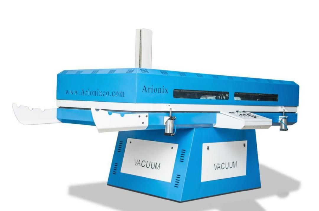دستگاه پرس وکیوم شرکت فنی و مهندسی آریونیکس