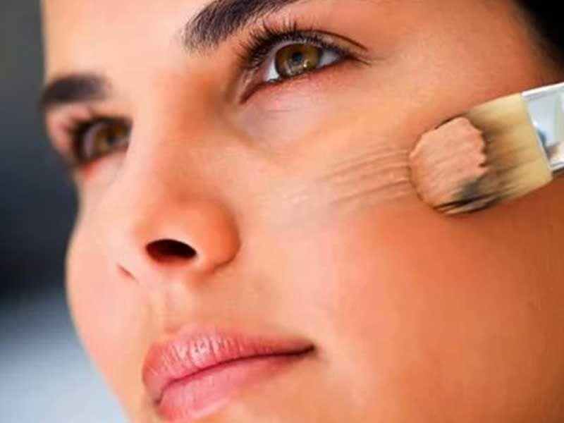 توصيه هاي مهم هنگام استفاده از زيرساز صورت