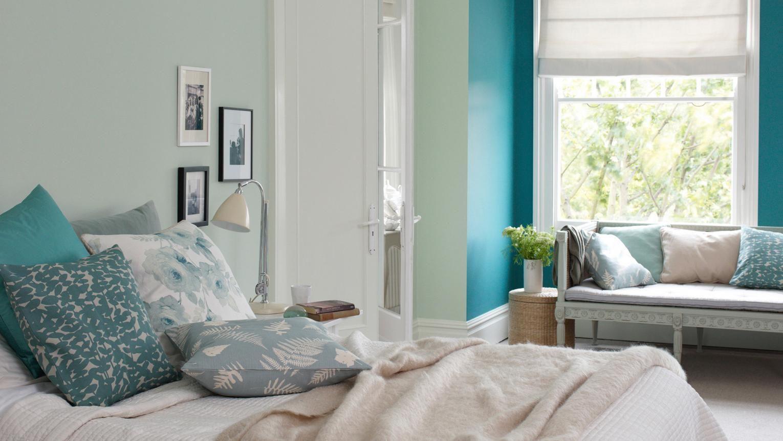 بهترین رنگها برای اتاقها با نور طبیعی زیاد چیست؟
