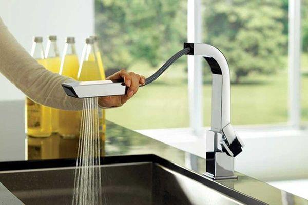 معرفی کامل انواع شیر آشپزخانه: شیر ظرفشویی دومنظوره تا چرخشی