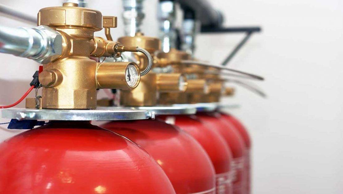 تجهیزات اطفاء حریق گازی