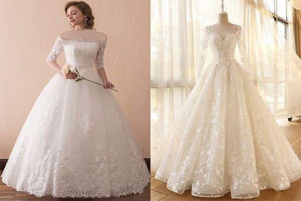معیارهای انتخاب لباس عروس