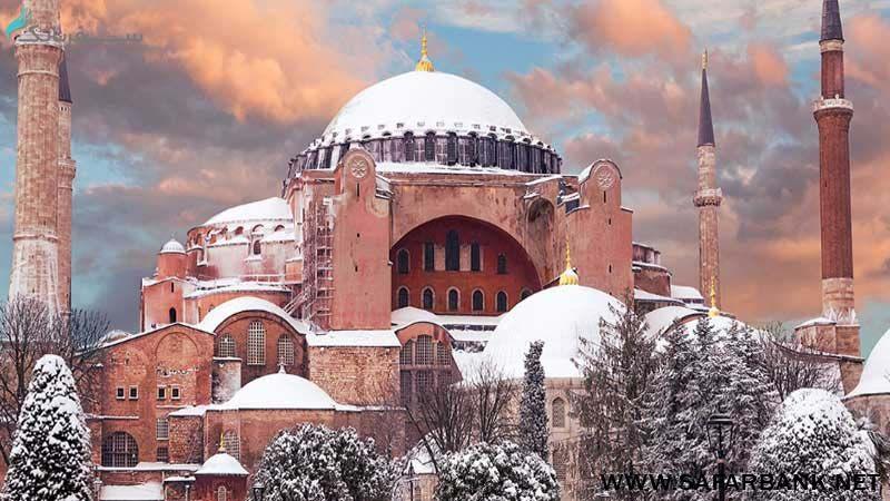 مسجد سلطان احمد در تور ارزان استانبول