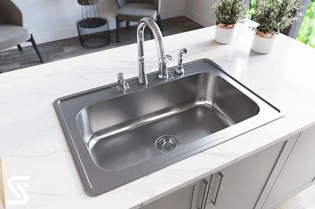 جدید ترین مدل های سینک ظرفشویی روکار معمولی