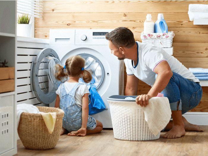 قفل کودک ماشین لباسشویی