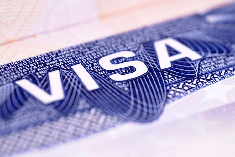 متن ویزا روی پاسپورت